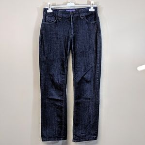 NYDJ Dark Wash Straight Leg Jeans